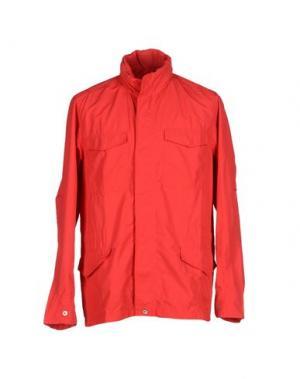 Куртка U CLOTHING. Цвет: красный