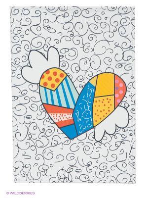 Обложка для паспорта Крылатое сердце Mitya Veselkov. Цвет: белый
