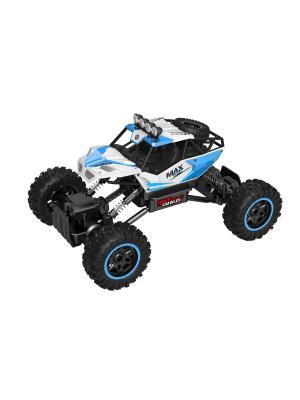 Радиоуправляемая машинка Rock crawler, 1:14, 4WD Blue Sea. Цвет: черный, белый, синий