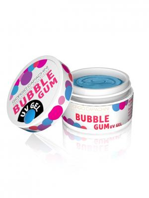 Гель для объемного дизайна Bubble Gum №04, 7 мл Giorgio Capachini professional collection. Цвет: голубой