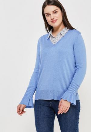 Пуловер Violeta by Mango. Цвет: голубой