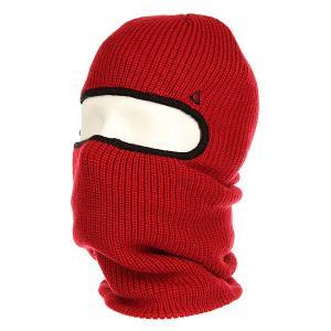 Балаклава  Facemask Red Ashbury. Цвет: красный
