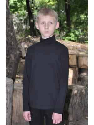 Водолазка ZEBRA KIDS. Цвет: черный