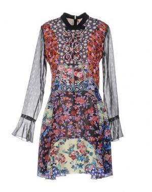 Короткое платье MARY KATRANTZOU. Цвет: оранжевый