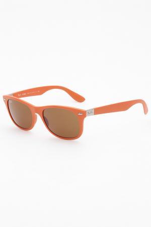 Очки солнцезащитные Ray-Ban. Цвет: оранжевый