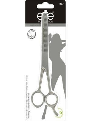Ножницы  парикмахерские филировочные ELITE.. Цвет: серебристый
