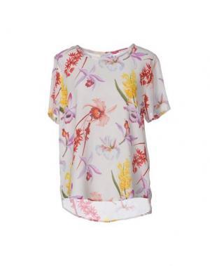 Блузка EQUIPMENT FEMME. Цвет: слоновая кость