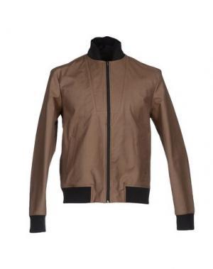 Куртка MARIO MATTEO. Цвет: хаки