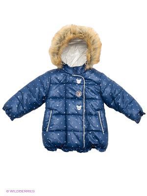 Куртка Бимоша. Цвет: темно-синий