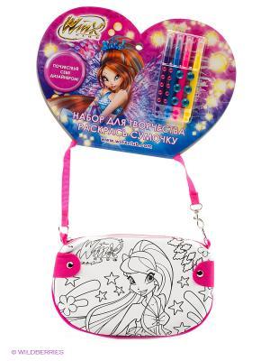 Набор для творчества  Winx. сумочка росписи на хедере Multiart. Цвет: розовый