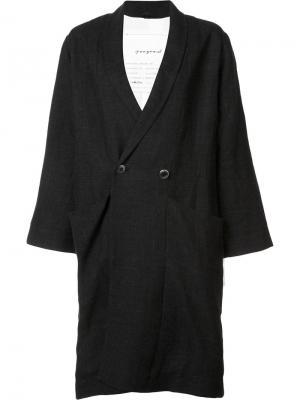 Пальто  Umpire Toogood. Цвет: чёрный