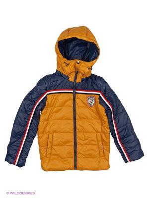 Куртка Fobs. Цвет: горчичный