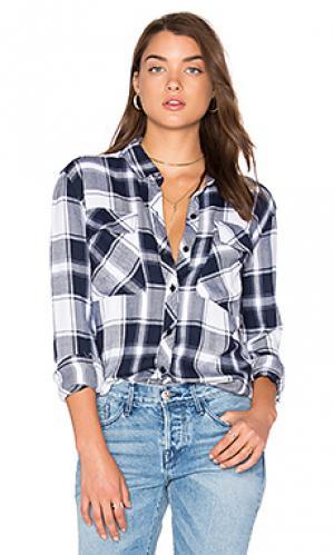 Рубашка на пуговицах dylan Rails. Цвет: синий