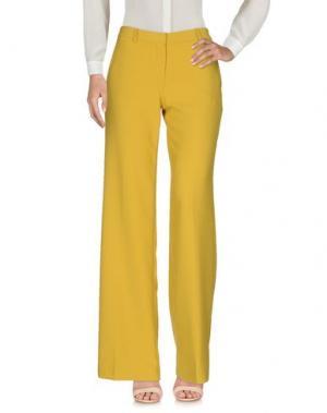 Повседневные брюки TARA JARMON. Цвет: охра