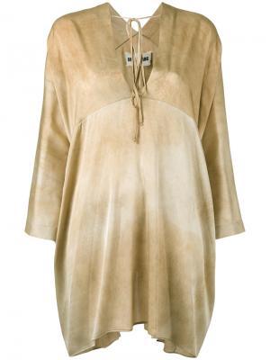 Блузка шифт Uma Wang. Цвет: чёрный