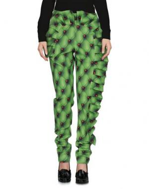 Повседневные брюки ULTRA'CHIC. Цвет: светло-зеленый