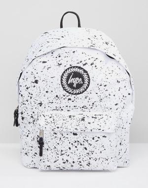 Hype Белый рюкзак. Цвет: белый