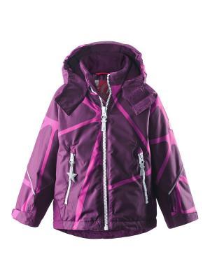 Куртка Reima. Цвет: темно-бордовый, лиловый