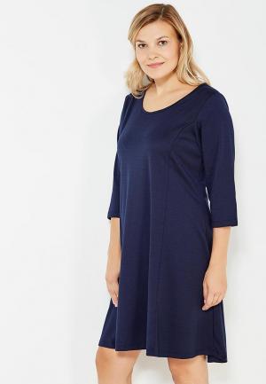 Платье Zizzi. Цвет: синий