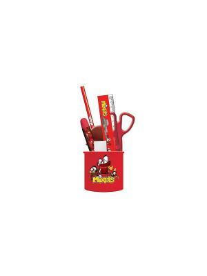 Набор настольный детский малый Mixels. Цвет: красный