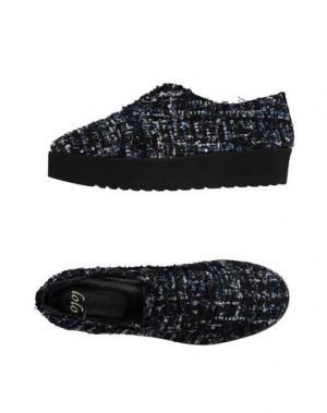 Обувь на шнурках LOLO. Цвет: темно-синий