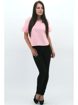 Блузка DARBOURSTORE. Цвет: розовый
