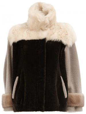 High neck jacket Maison Ullens. Цвет: серый