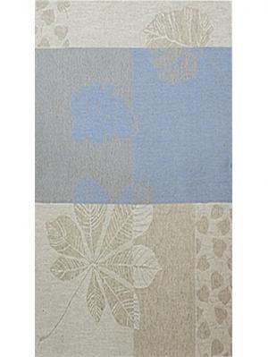 Полотенце Бостон Белорусский Лен. Цвет: голубой,светло-серый