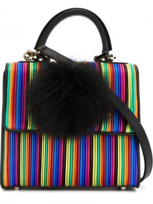 Маленькая плиссированная сумка через плечо Les Petits Joueurs. Цвет: none
