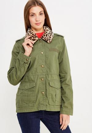 Куртка Gap. Цвет: хаки