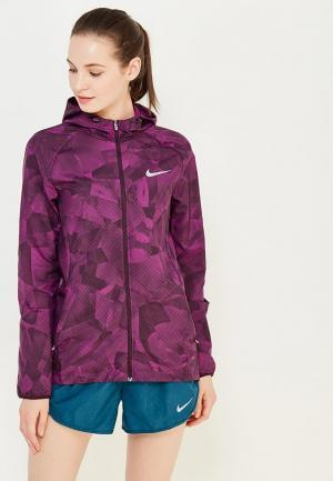 Ветровка Nike. Цвет: фиолетовый
