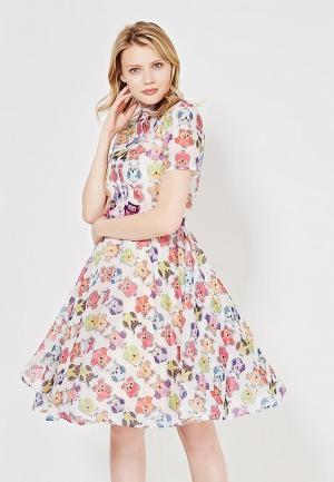 Платье To be Bride. Цвет: разноцветный