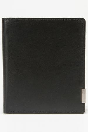 Бумажник Bodenschatz. Цвет: черный