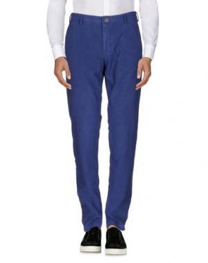 Повседневные брюки MCS MARLBORO CLASSICS. Цвет: синий