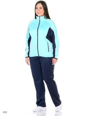 Спортивный костюм ADDIC. Цвет: салатовый