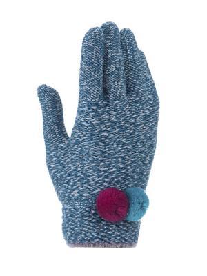 Перчатки для девочки Cascatto. Цвет: зеленый