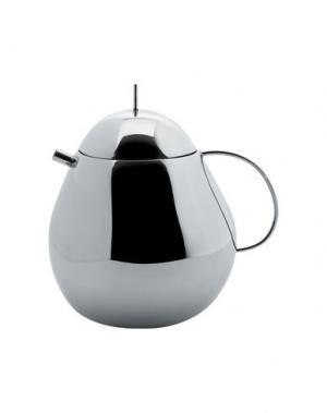 Для чая и кофе ALESSI. Цвет: серебристый