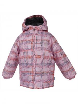 Куртка HUPPA. Цвет: бледно-розовый