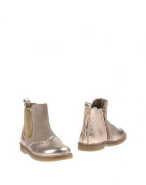 Полусапоги и высокие ботинки OCA-LOCA. Цвет: золотистый
