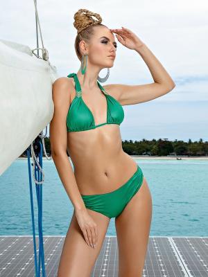 Купальник женский LORA GRIG. Цвет: зеленый