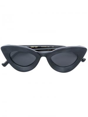 Солнцезащитные очки Iemall Grey Ant. Цвет: чёрный