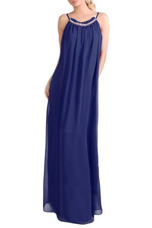 Платье JUNONA. Цвет: синий