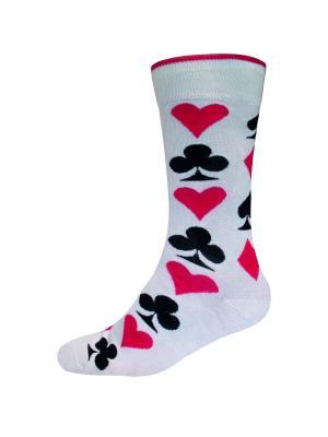 Носки HOT SOX. Цвет: молочный