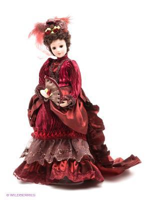Кукла фарфоровая Брианна, 10 Lisa Jane. Цвет: бордовый, бежевый