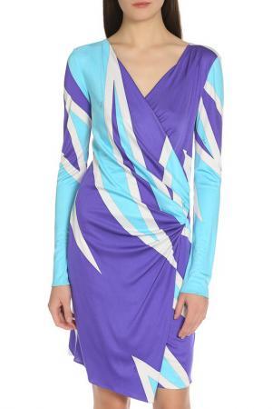 Платье Emilio Pucci. Цвет: бирюзово-фиолетовый