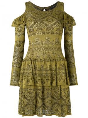 Cold shoulder knit dress Cecilia Prado. Цвет: none