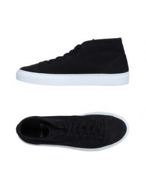 Высокие кеды и кроссовки DIEMME. Цвет: черный