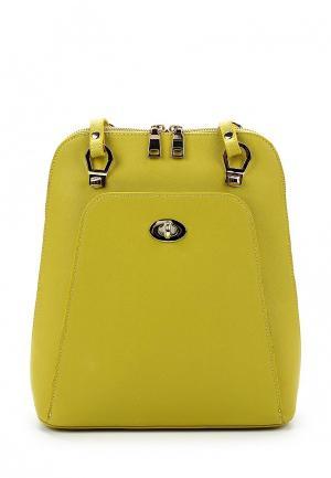 Рюкзак Baggini. Цвет: желтый