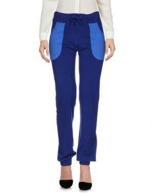 Повседневные брюки YES LONDON. Цвет: темно-синий