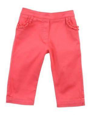 Повседневные брюки LILI GAUFRETTE. Цвет: коралловый